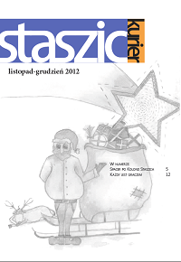 Staszic Kurier listopad-grudzień 2012