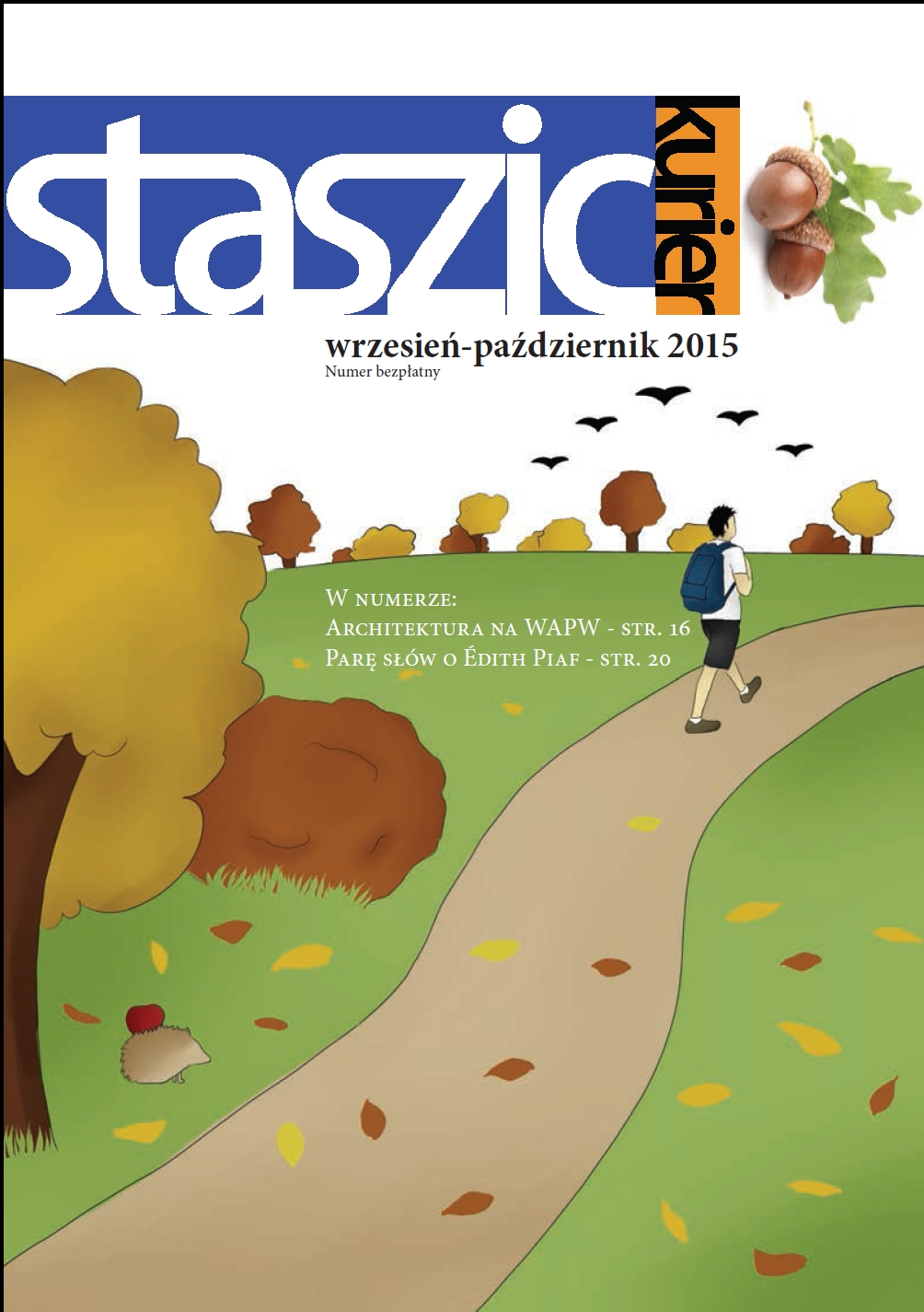 Staszic Kurier wrzesień - październik 2015