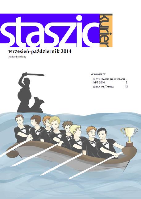 Staszic Kurier wrzesień-październik 2014